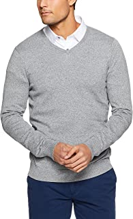 Oxford Men Basic Cotton V-Neck Pullover