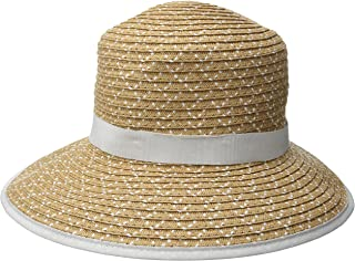 Physician Endorsed Women's Pitch Perfect Straw Sun Hat, Rated UPF 50+ for Max Sun Protection