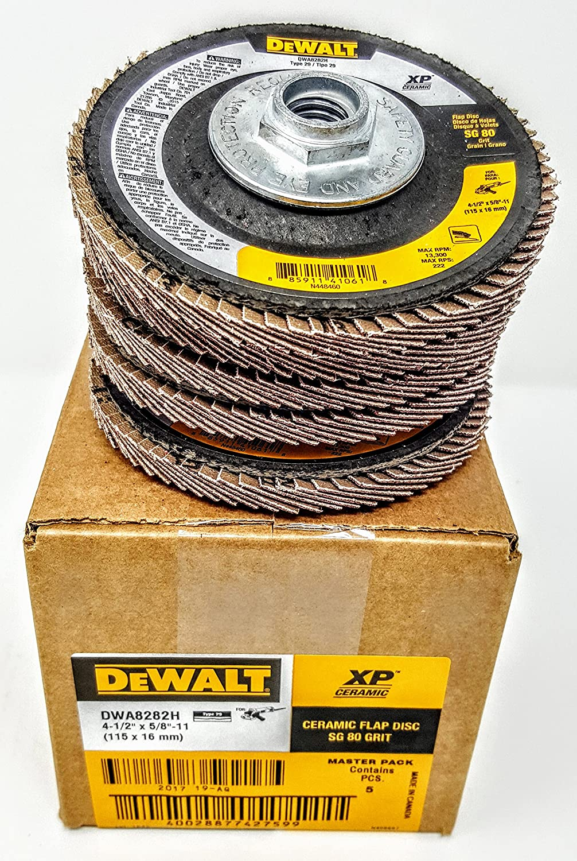 Box 2020モデル of 5 Dewalt DWA8282H 4-1 2