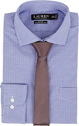 LAUREN Ralph Lauren - Slim Fit Stretch Non Iron Poplin Spread Collar Dress Shirt