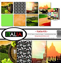 Reminisce Italia Scrapbook Collection Kit
