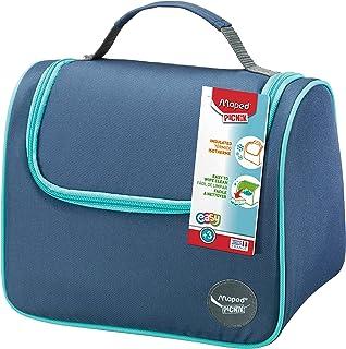 Maped Picnik Origins - Lunch bag Sac à Déjeuner Isotherme pour Enfants avec Anse de Transport - Facile à nettoyer - Bleu
