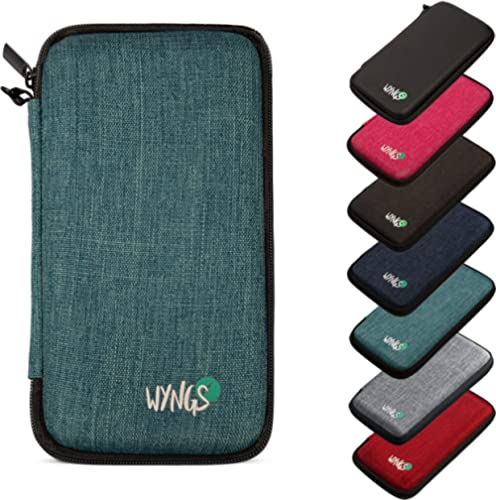 WYNGS Protective Case for Texas Instruments TI-84 Plus CE Graphing Calculator in Turquoise