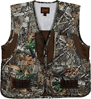 Camo Front Loading Upland Dove Hunting Vest with Camo Back