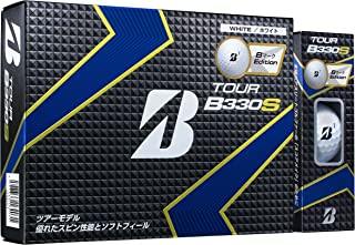 BRIDGESTONE(ブリヂストン) ゴルフボール TOUR B B330S BマークEdition ホワイト GSBXT