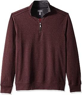 Men's Flex Long Sleeve 1/4 Zip Soft Sweater Fleece