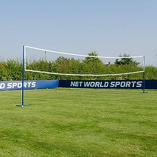 Freestanding Badminton/Volleyball Combi Posts [Optional Nets] | Portable Steel Posts