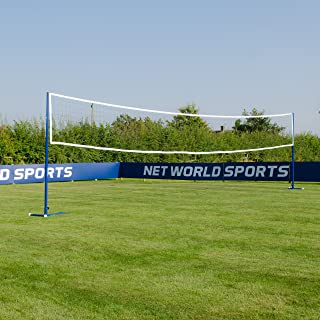 Freestanding Badminton/Volleyball Combi Posts [Optional Nets] | Portable Steel Posts