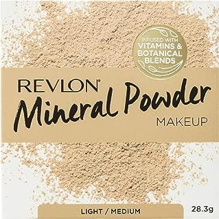 Revlon Mineral Powder Makeup, Light/Medium, 28.3g