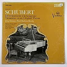 Schubert: Divertissement a La Hongroise / Eight Variations on an Original Theme / Jorg Demus, Paul Badura-Skoda