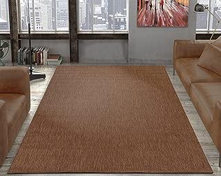 Ottomanson Jardin Collection Sisal Area Rug, 5'3
