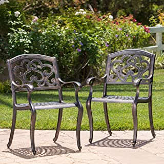 Brilliant Best Iron Mesh Patio Furniture Of 2019 Top Rated Reviewed Bralicious Painted Fabric Chair Ideas Braliciousco