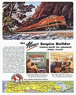 Best amtrak empire builder poster Reviews