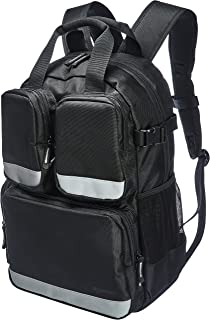AmazonBasics Tool Bag Backpack - 23-Pocket with 3-Pocket Front