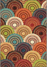 Better Homes and Gardens Bright Dotted Circles Area Rug or Runner, 22 x 60
