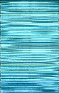 Smart Design SMM006 Indoor/Outdoor Plastic Rugs- (Blue,6x9)