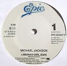 "Liberian Girl Michael Jackson 7"" 45"