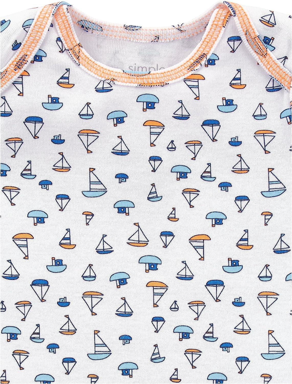 Simple Joys by Carters Baby 5-Pack Long-Sleeve Bodysuit