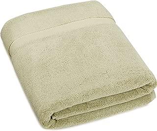 Pinzon Heavyweight Luxury Cotton Large Towel Bath Sheet - 70 x 40 Inch, Sage