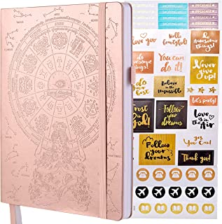 Deluxe Law of Attraction Life Planner - A 12 Month Journey to Increase Productivity, Passion, Purpose & Happiness - Happy Weekly Goal Planner, Organizer & Gratitude Journal + Planner Stickers