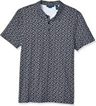 Perry Ellis Men's Pima Cotton Print Polo