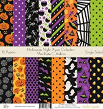 Pattern Paper Pack - Halloween Night - Scrapbook Premium SpecialtyPaper Single-Sided 12