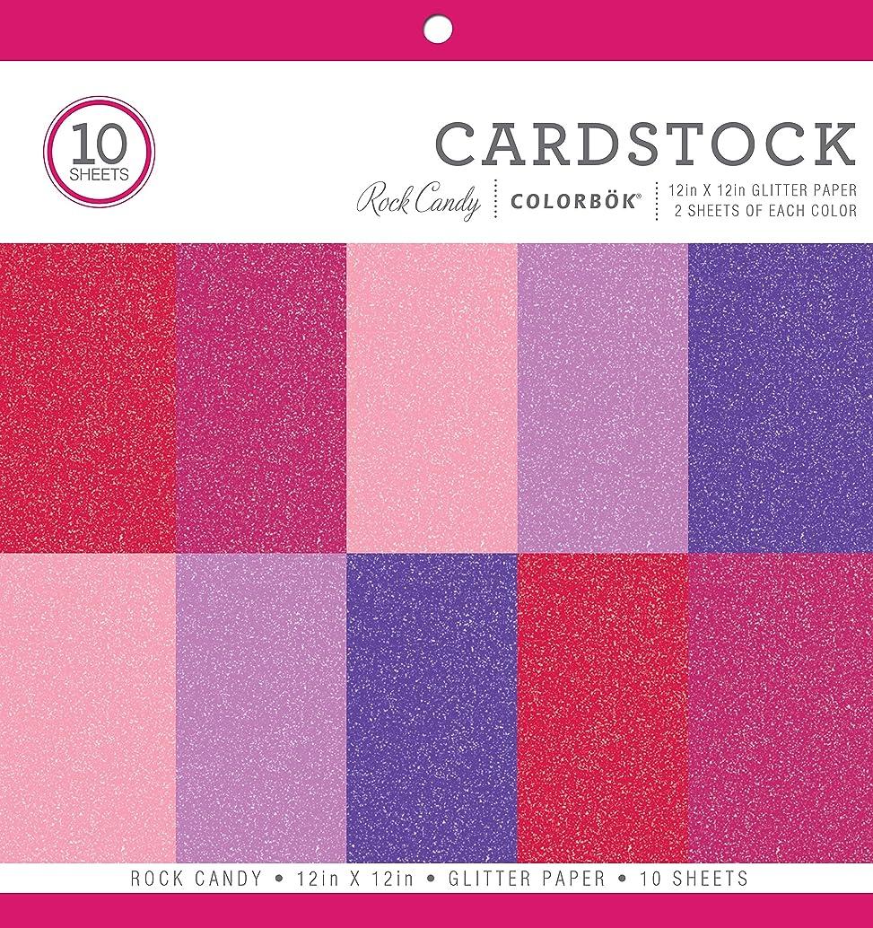 Colorbok Glitter Paper Pad, 12