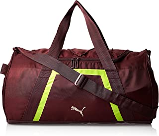 Puma At Shift Duffle Vineyard Wine-yellow Ale Purple Bag For Women, Size One Size