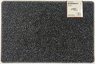 Nicoman Dirt-Trapper Barrier Door Mat Heavy Duty Floor Matt-(Use Indoor or Sheltered Outdoor), Spaghetti Doormat, Charcoa...