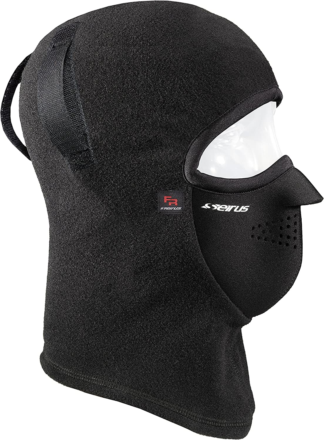 Seirus Innovation 8207 Fireshield Hard Hat Combo Clava with Velcro Attachment - Head Face Mask and Neck Warmer FIRE RESISTANT