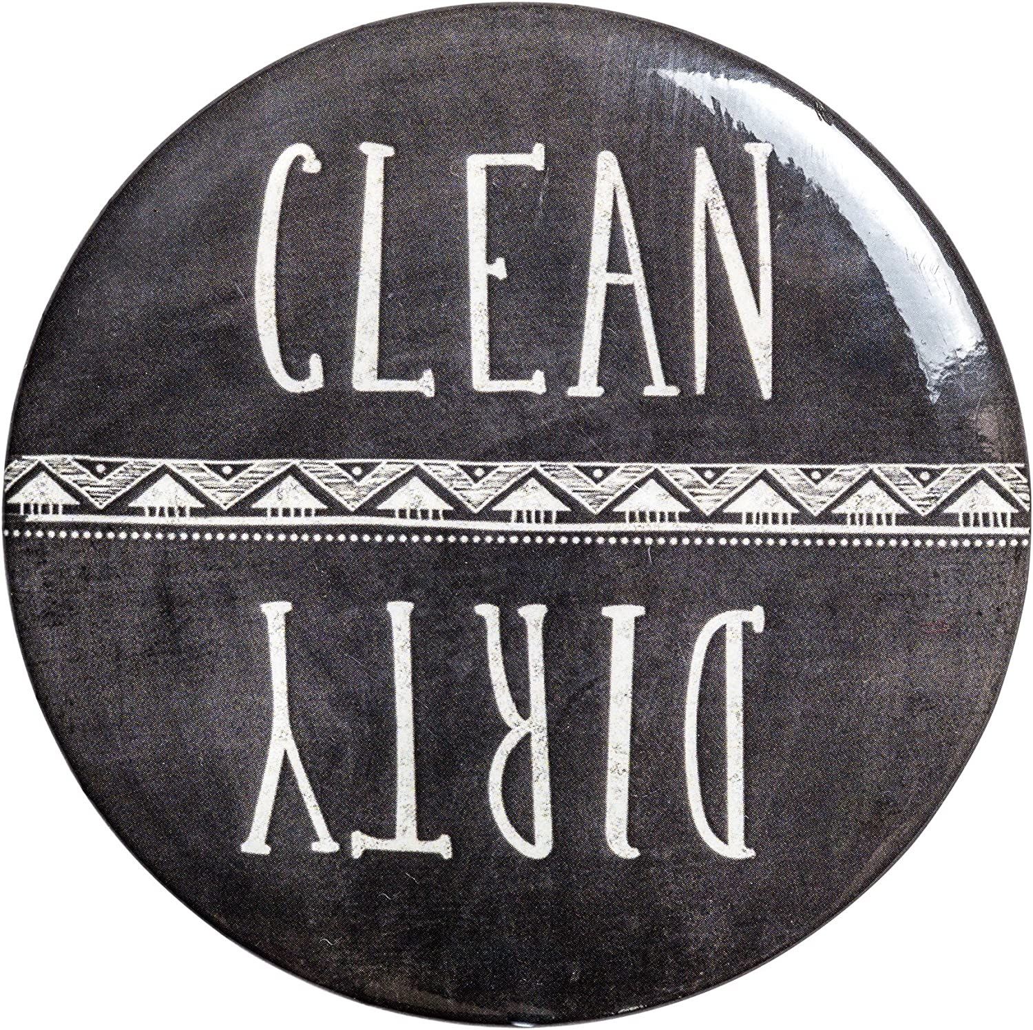 Clean Dirty Louisville-Jefferson Special Campaign County Mall Dishwasher Magnet Sign Chalkboard