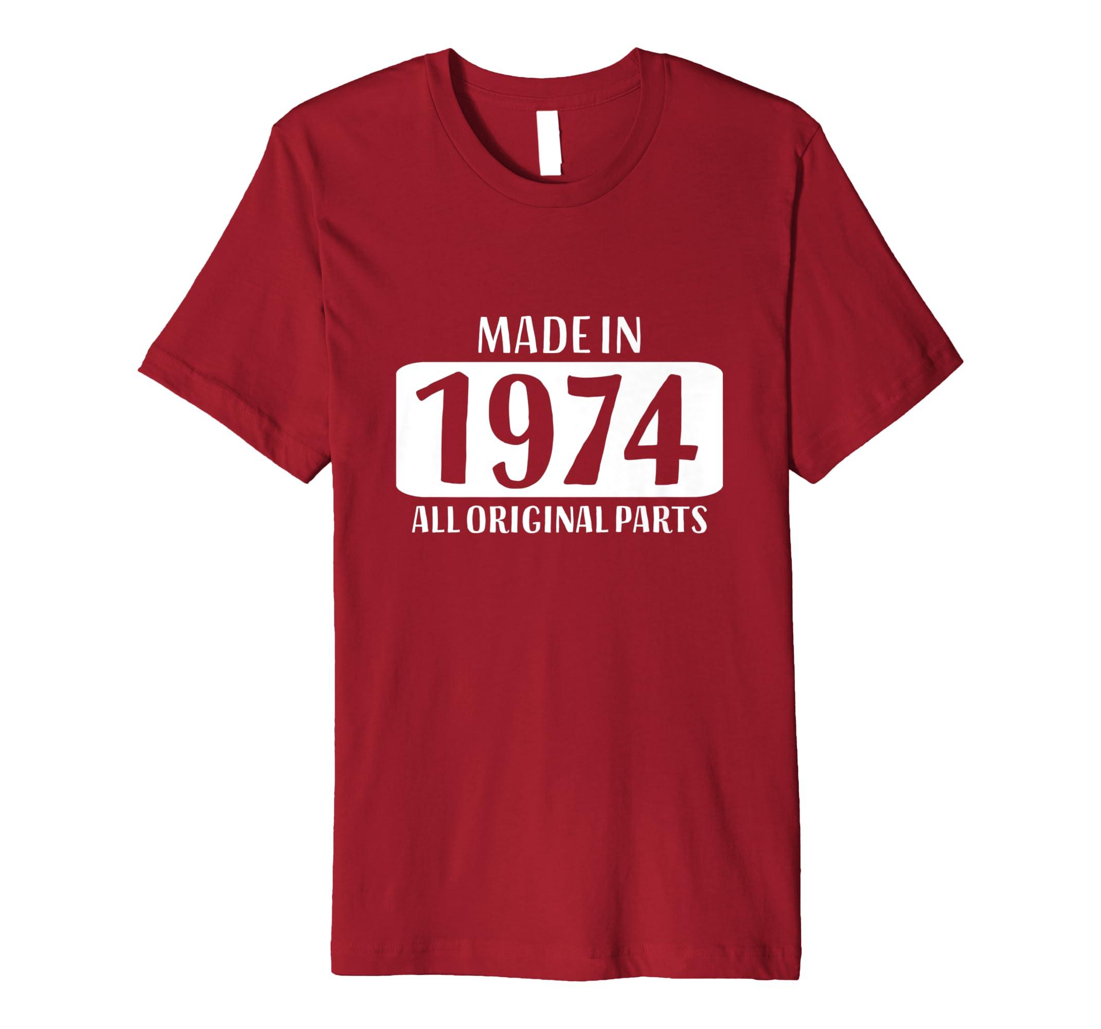 Amazon 45th Birthday Shirt Women Mom Age 45 Year Old Men Dad Gifts Clothing