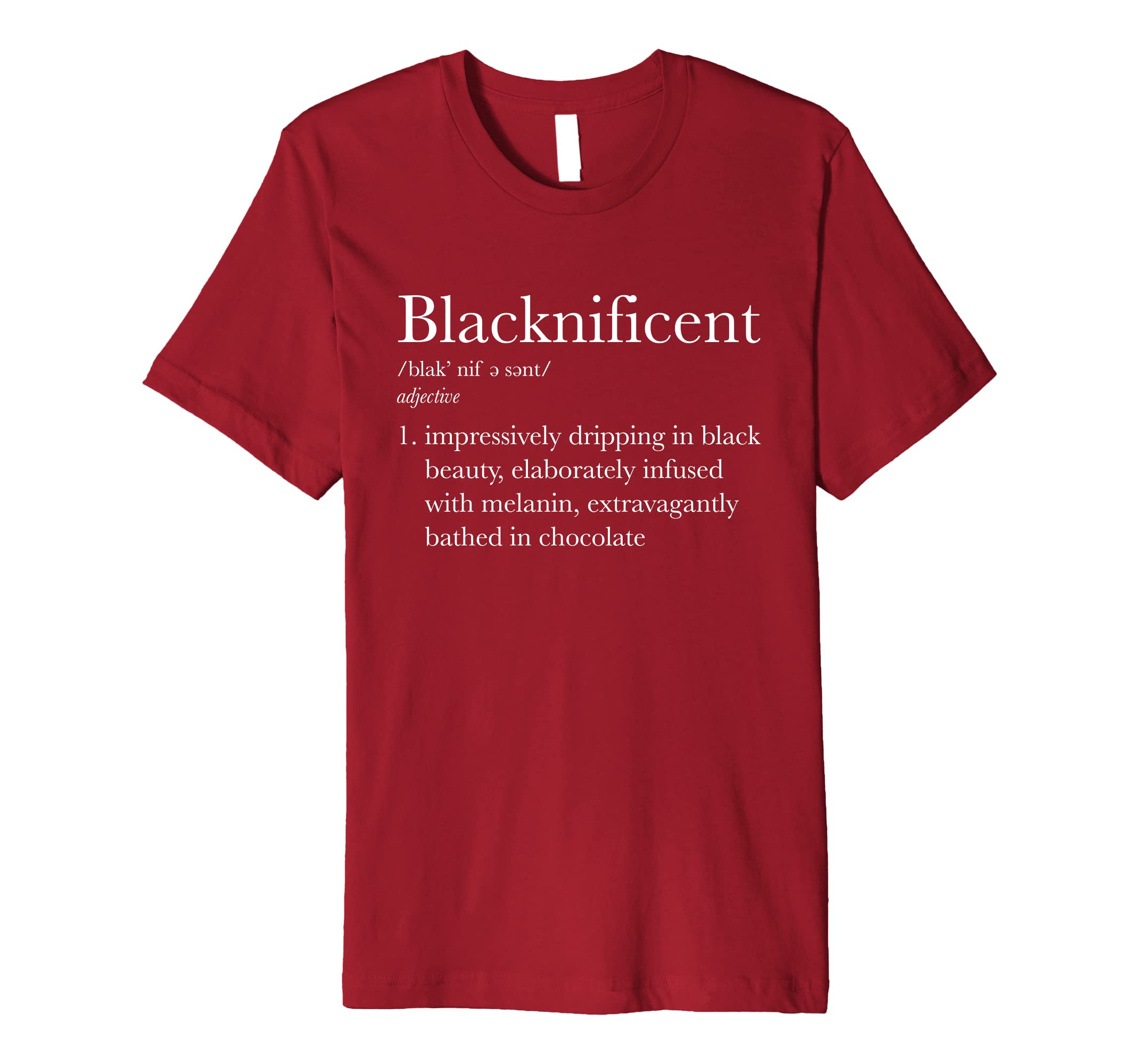 Blacknificent Black Pride Black History Month Tee-ANZ