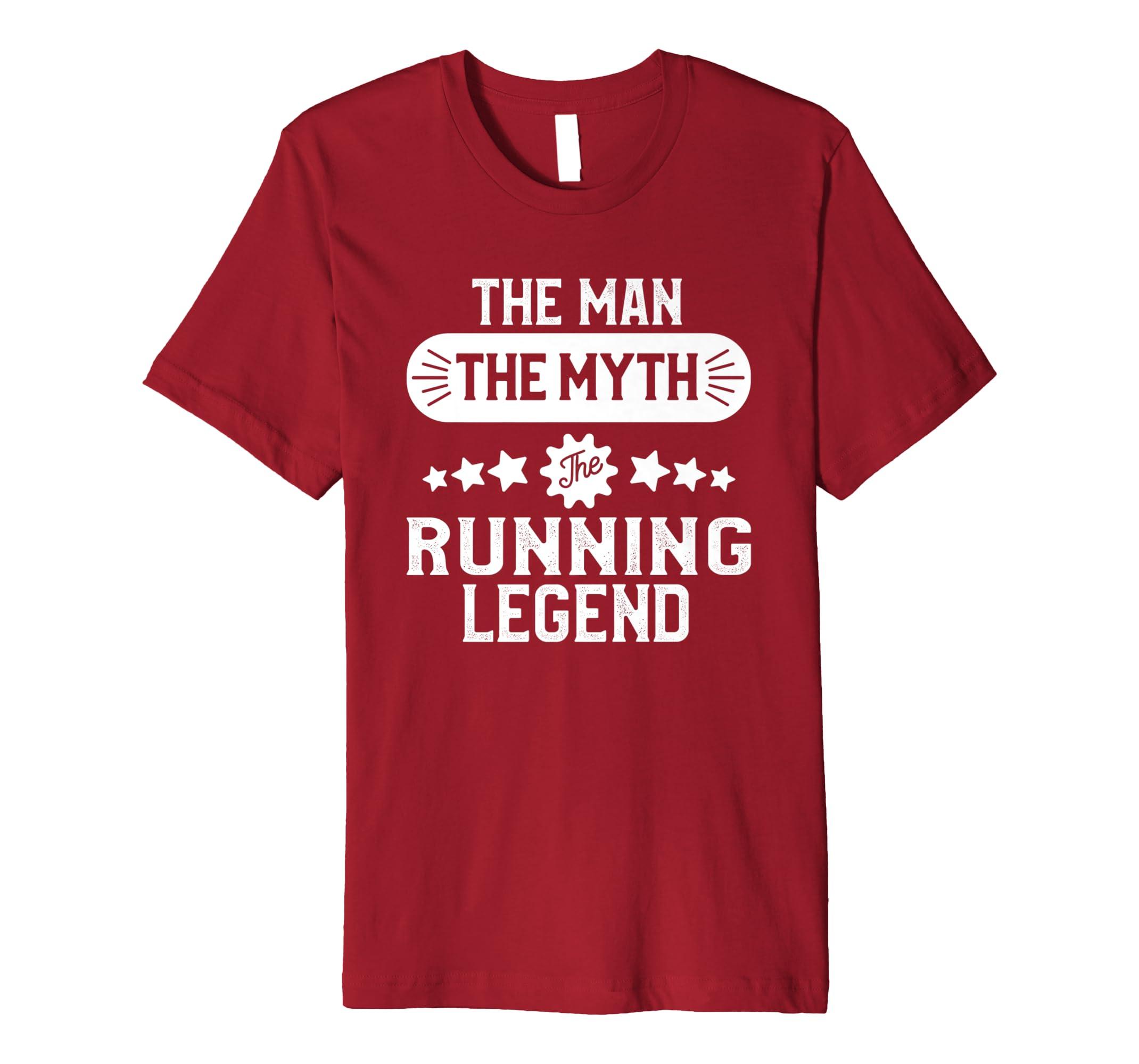 d68ded2d Running T-shirt for Men Funny Marathon Runner Gift: Amazon.co.uk: Clothing