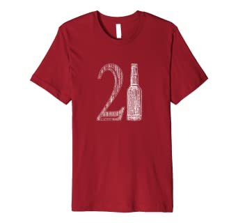 21st Birthday 21 Years Old Beer Drinking Shirt