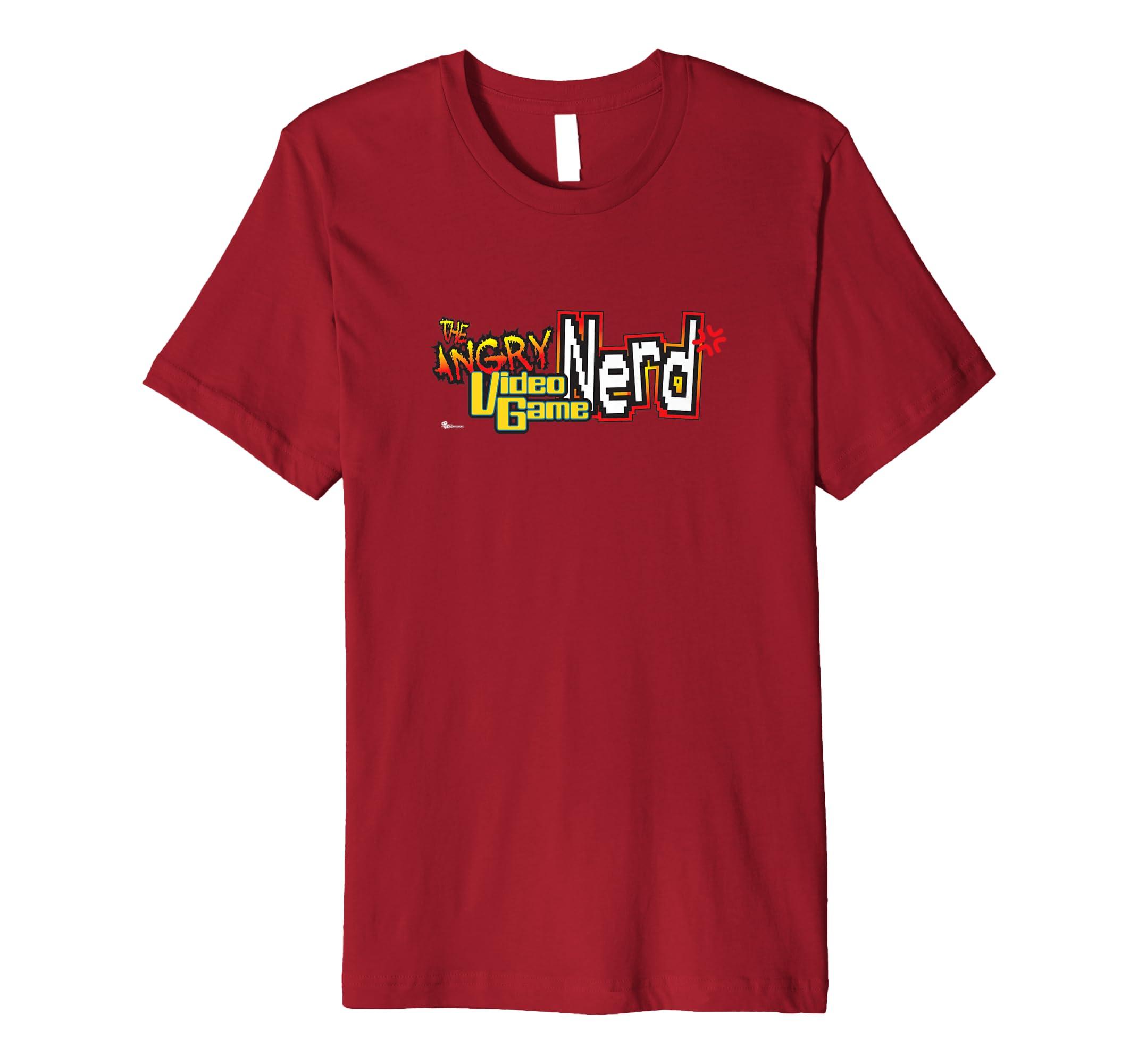Angry Video Game Nerd Logo T Shirt-azvn