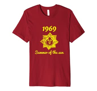 9cb8f48d8ade Image Unavailable. Image not available for. Color  1969 SUMMER OF THE SUN  T-SHIRT