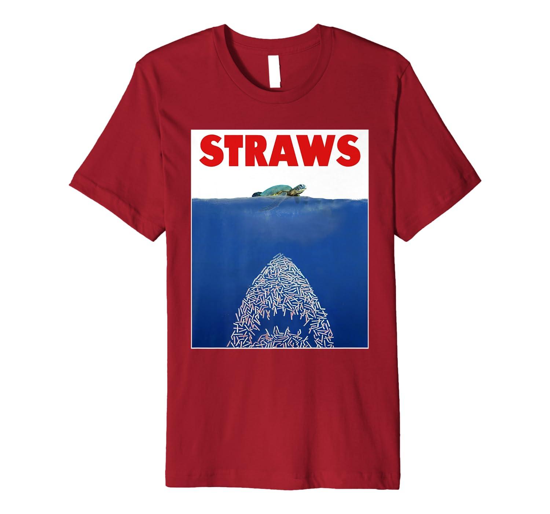 Save The Sea Turtles Conservation Gift Shirt Anti Straws Premium T-Shirt