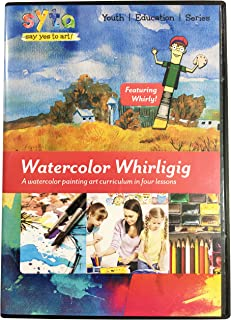 Learn Watercolor Painting in 4 Easy Lessons DVD   Country Life   How To Paint with Watercolor   Watercolor Techniques DVD...