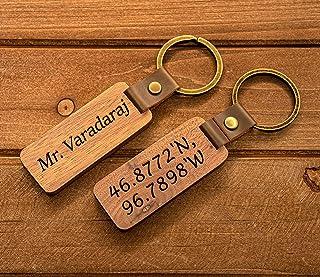 Personalized Key chain Monogram keychain Engraved Leather Key Chain Custom Key chain Custom sports gift kc004 Fishing keychain