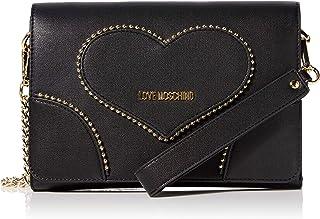 Love Moschino Borsa Pu, Borsetta da polso Donna, 16x24x3 cm (W x H x L)