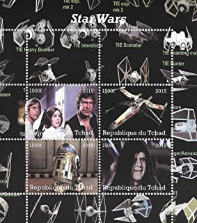 Star Wars Sellos para coleccionistas con Han Solo R2-D2 y