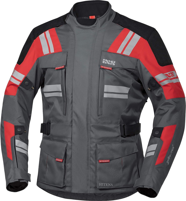 Ixs Motorradjacke Mit Protektoren Motorrad Jacke Blade St 2 0 Tour Textiljacke Herren Tourer Ganzjährig Polyester Bekleidung