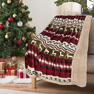 Christmas Throw Sherpa Blanket 50