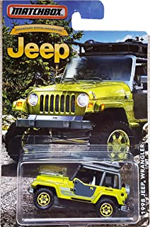 MATCHBOX LIMITED EDITION JEEP ANNIVERSARY EDITION GREEN 1998 JEEP WRANGLER DIE-CAST by Matchbox