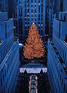 Rockefeller Center Tree New York Christmas Cards Boxed Set of 12 Holiday Cards And 12 Envelopes. Made in USA