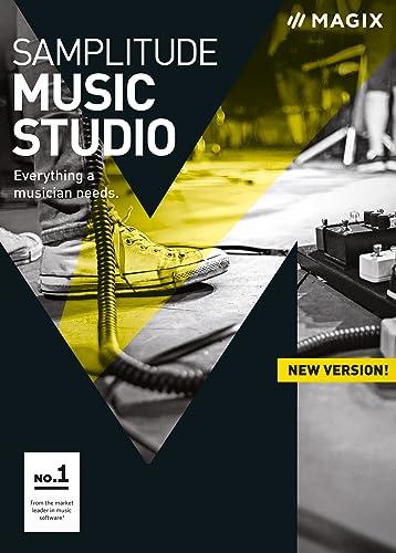MAGIX Samplitude Music Studio – Version 2017 – le studio d'enregistrement pour éditer, enregistrer & produire de la musique [Téléchargement]