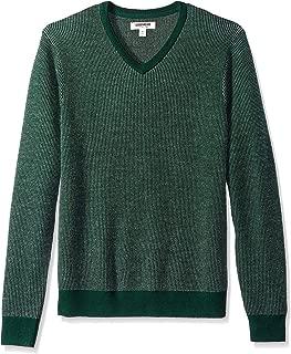 Amazon Brand - Goodthreads Men's Merino Wool V-Neck Birdseye Sweater