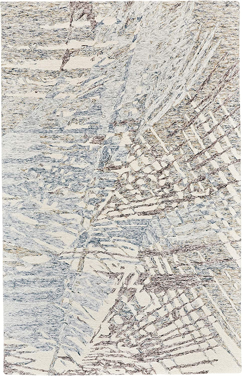 All items free shipping Feizy Rugs We OFFer at cheap prices - Rhett Abstarct Print Blue 8 Rug Orange Rust Denim