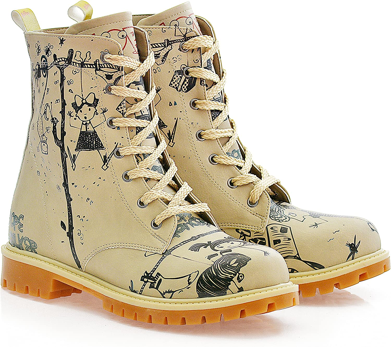 GOBY Women's shoes ''Printed - colorful Long Boot'' TIM1005